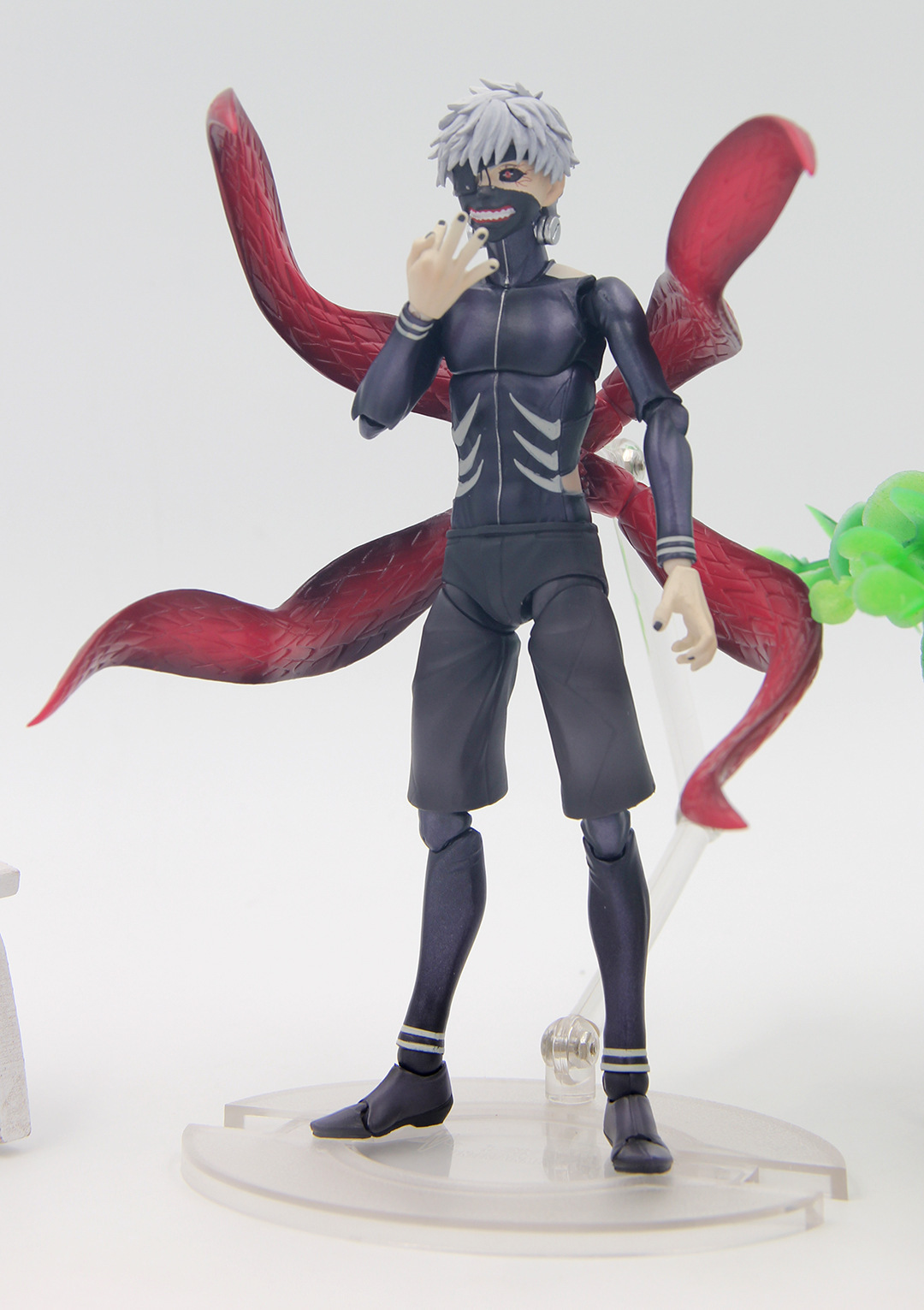 Anime Tokyo Ghoul Ken Kaneki Awakening Ver. Joints Move Action Figure Collectible Model Toy 16cm