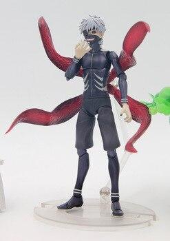 Anime Tokyo Ghoul Ken Kaneki Awakening Ver. Joints Move Action Figure Collectible Model Toy 16cm
