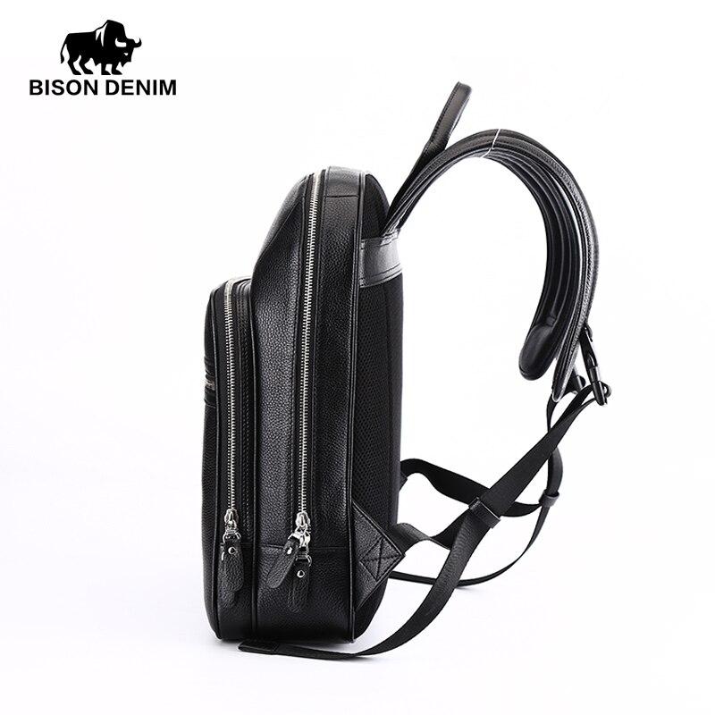 masculina mochila schoolbolsa n2337 Técnica : Cowhide