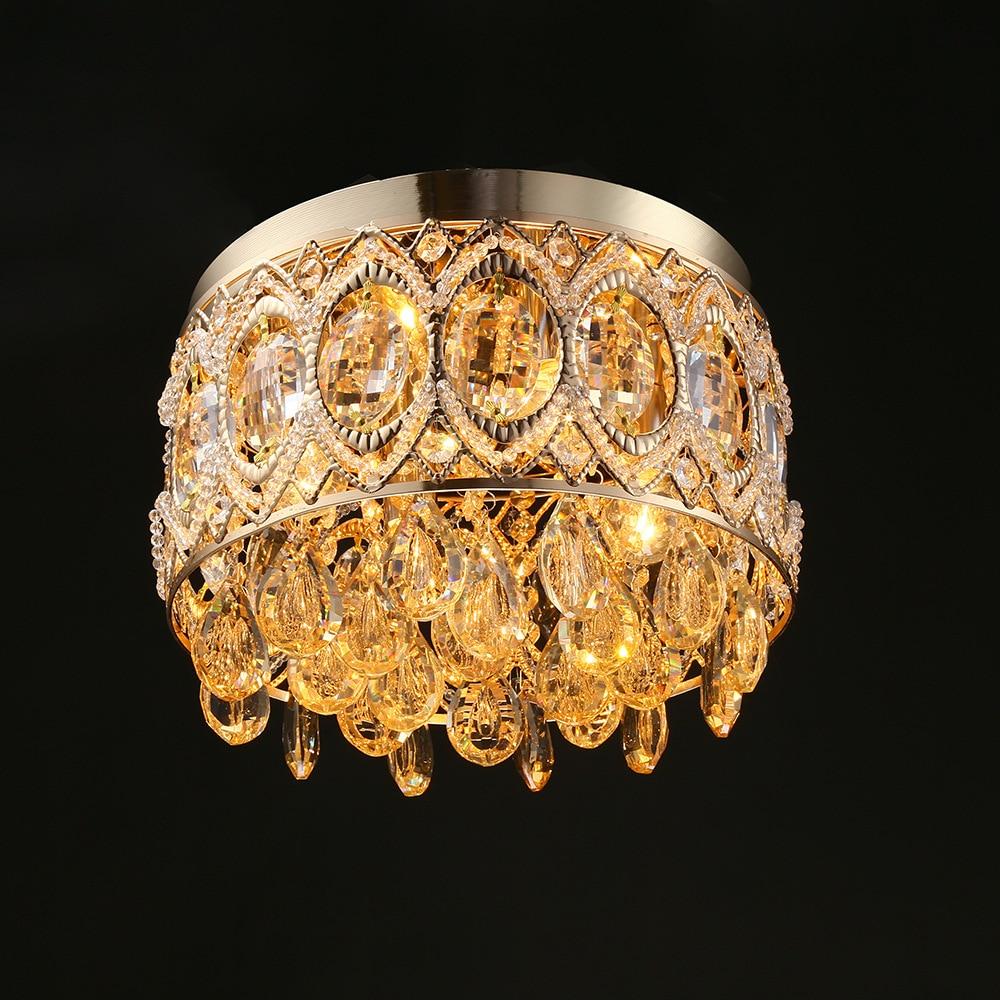 Здесь продается  Crystal hanging lamp pendant lamp personality bedroom living room lamp ceiling lamp WPL299  Свет и освещение