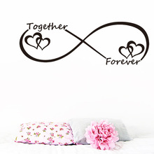 Romantic Wall Stickers for Bedroom Decor
