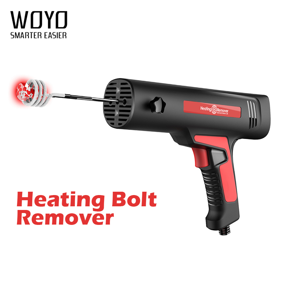 WOYO HBR Induction Heating Bolt Remover Rusted Frozen Corrosive Bolt Remove Machine Portable Heating Bolt Remover Tool for Car