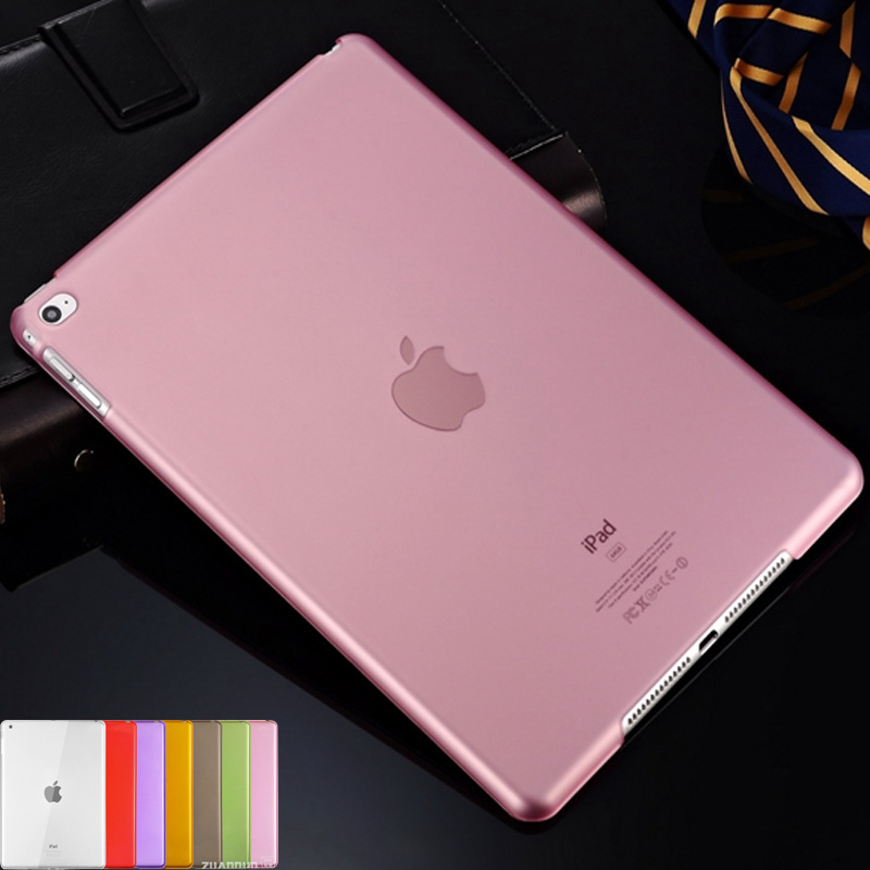 Transparent Case For iPad Air 2 Clear Soft TPU Silicone Cases Shockproof Protective Cover For Apple iPad Air 2 Tablet Case case for ipad air 2 pocaton for tablet apple ipad air 2 case slim crystal clear tpu silicone protective back cover soft shell