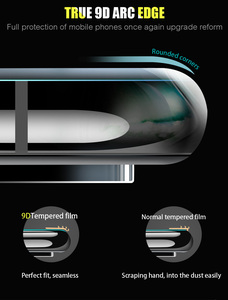 Image 3 - 9D Full CoverกระจกนิรภัยสำหรับOPPO A59 F1S F3 Plus R11 R11S Plus F5 F7 A1 A1K A7 V15 a9 F9 Pro Screen Protectorฟิล์มด้านหน้า
