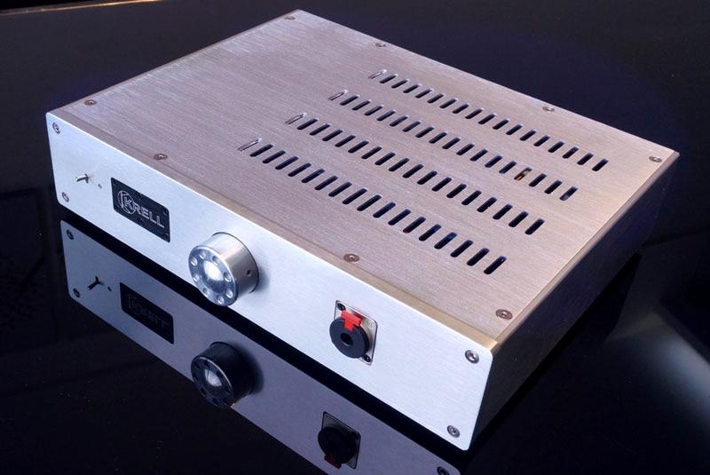WEILIANG ÁUDIO Referem-se a KRELL ksa5 classe circuito UM completo DC amplificador de fone de ouvido amplificador de auscultadores final