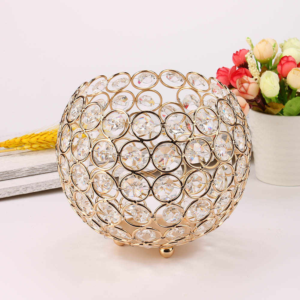 Valentines Day Crystal Tea Light Candle Holders/Candle Shade for Wedding  Romantic Decoration Candle Home Decor Gift Love #X