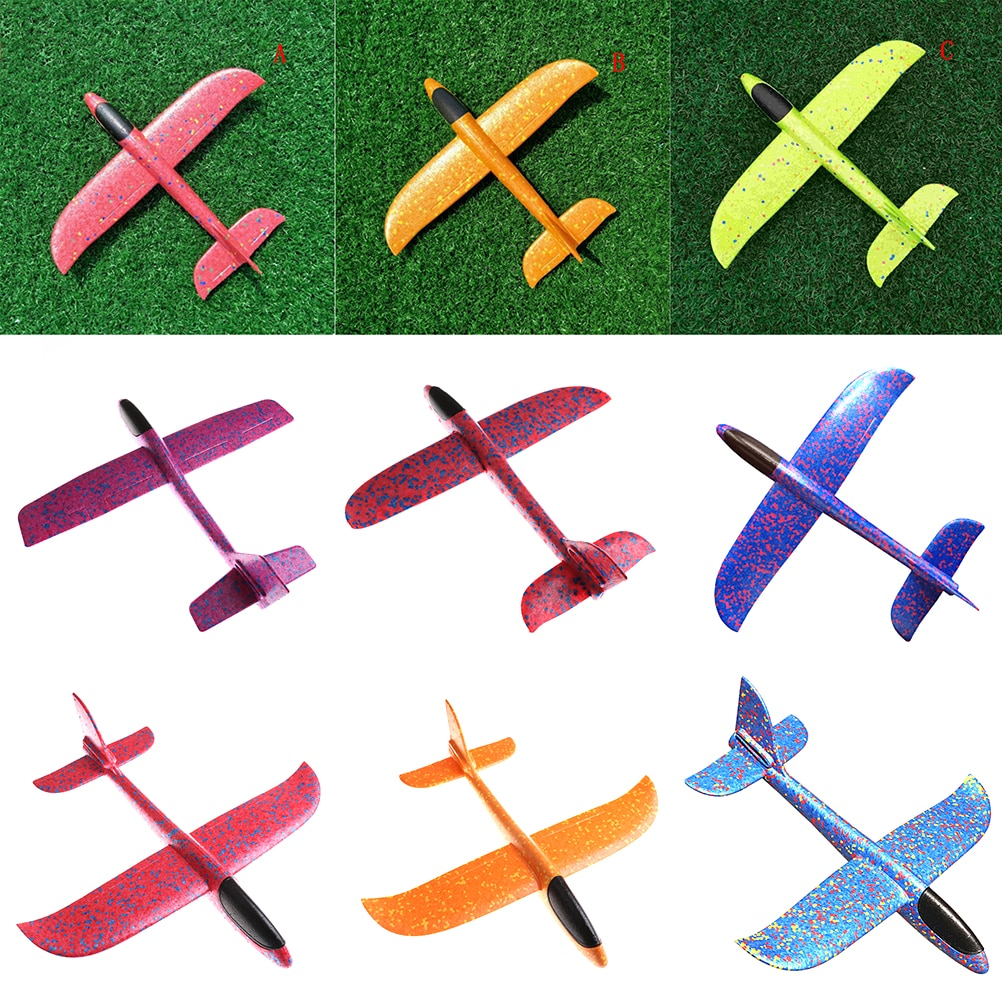 Aircraft Inertial EPP Airplane Made Of Foam Plastic Hand Launch Throwing Airplane Glider Plane Model Outdoor Kid Toys 12-48cm