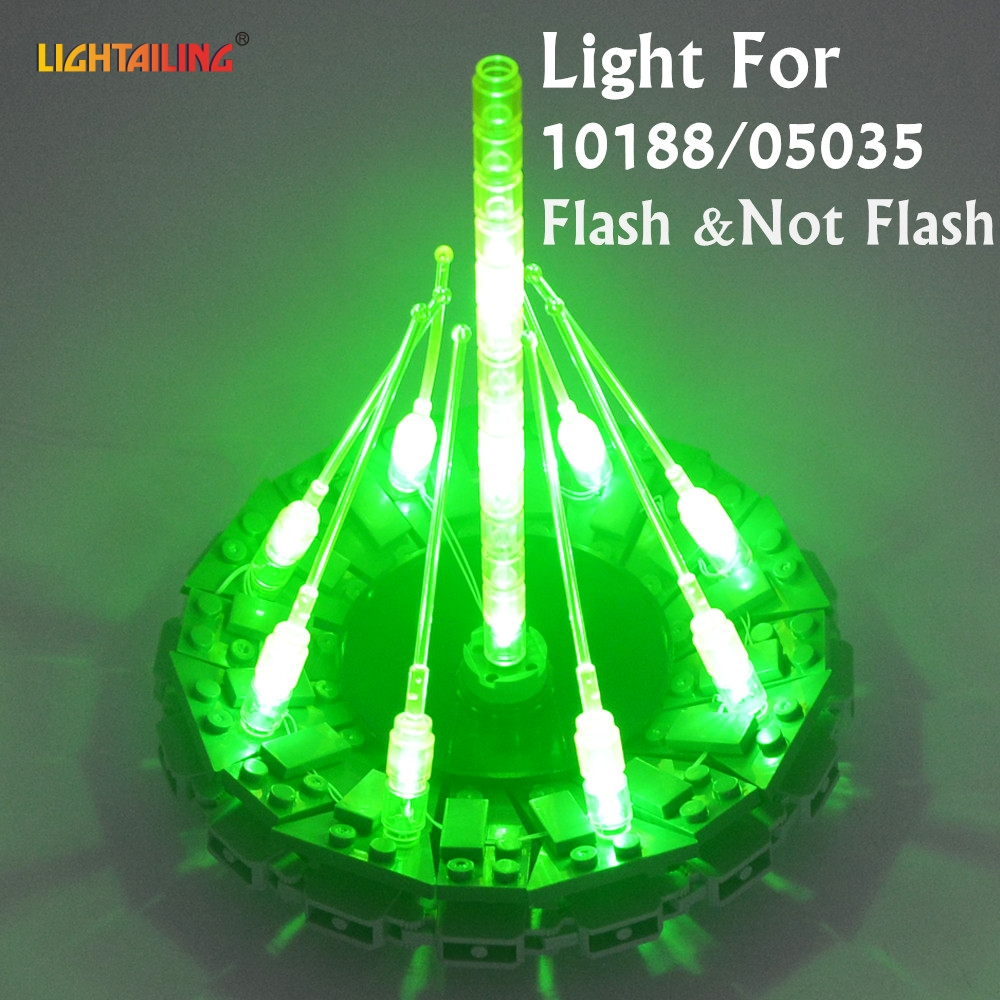 LIGHTAILING LED Lumière Kit Pour Guerre Étoiles Death Star Building Block Lumière Ensemble Compatible Avec 10188 Et 10143 Et 75159