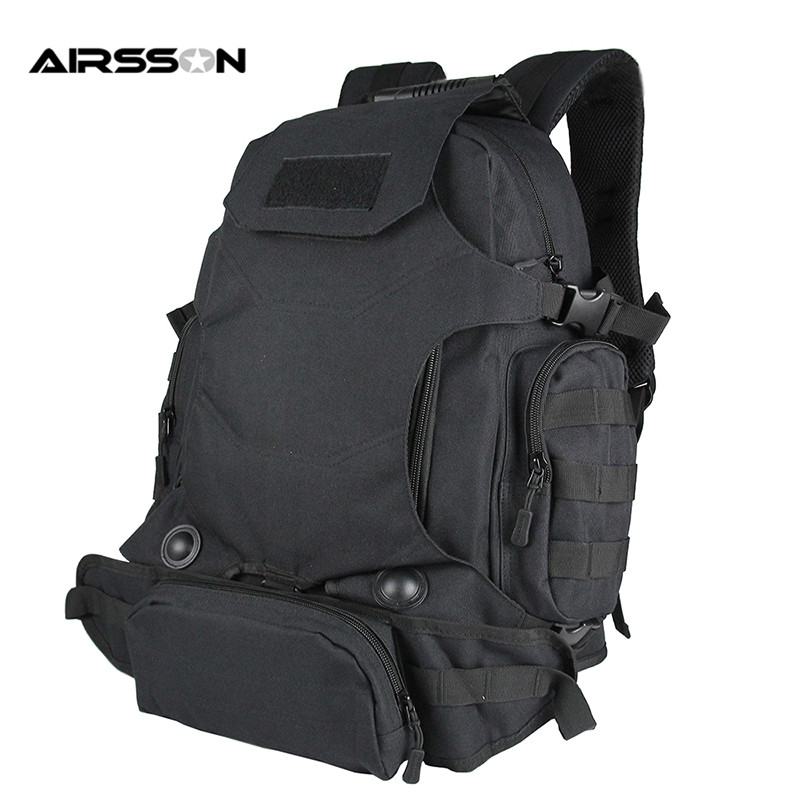 ФОТО 900D 40L Outdoor Multi-functional Tactical High Capacity Backpack Military Hiking Camping Mountaineering Bag Pack Outdoor Sports