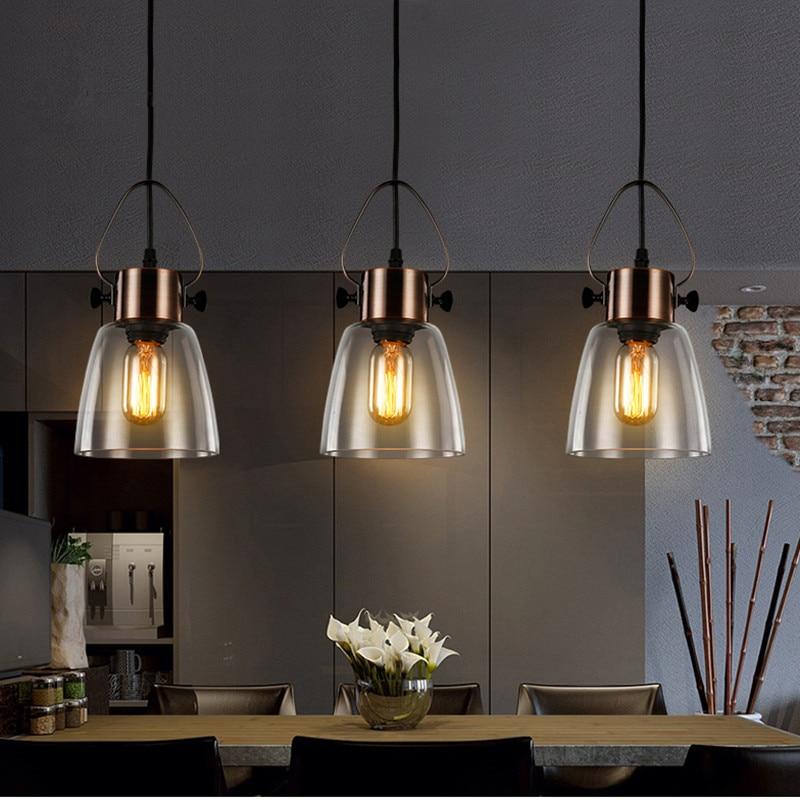 Kitchen Pendant Light Bedroom Lamp Bar Ceiling Light: Bar Lights Bedroom Glass Lighting Kitchen Island Pendant