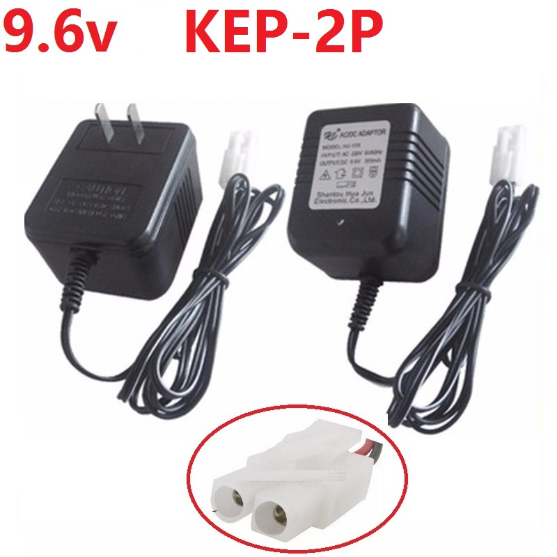 9.6V Battery Charger Units KET-2P For NiCd/NiMH battery pack USB charger For RC toy Car/Tank huanqi 781 782/Motorcycles 528
