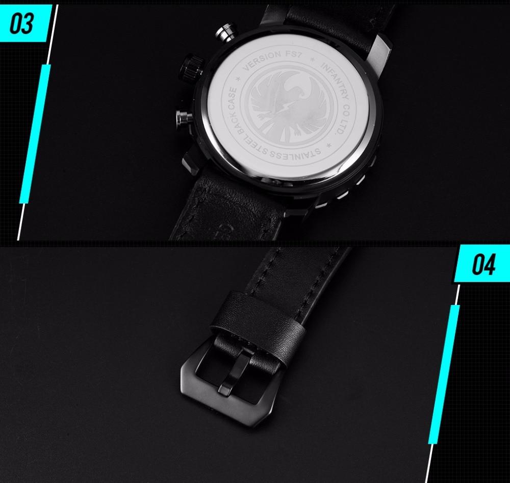 Мужские часы для мотоциклистов от ведущего бренда, Роскошные военные часы, мужские часы с хронографом Daytona, тактические Часы Авиатор для мужчин, Relogio Masculino