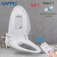 GAPPO сиденье для унитаза умное биде для туалета интеллектуальное очищающее сухое сиденье для унитаза мочалка электрическая Крышка для биде