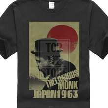 9fff15d08 Thelonious Monk Japan Black T Shirt New Official Jazz Music Adult  Small(China)