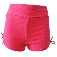 2018 נשים קיץ גלישת חוף מכנסיים קצרים בגד ים גברת לחות הפתילה ייבוש מהיר מכנסיים קצרים לשחות שחורים לנשים Pantalones