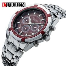 Moda Casual Hombres Del Reloj del Cuarzo Relojes Hombres de Acero Inoxidable Reloj Ocasional Del Relogio Marca de Lujo Reloj de Pulsera