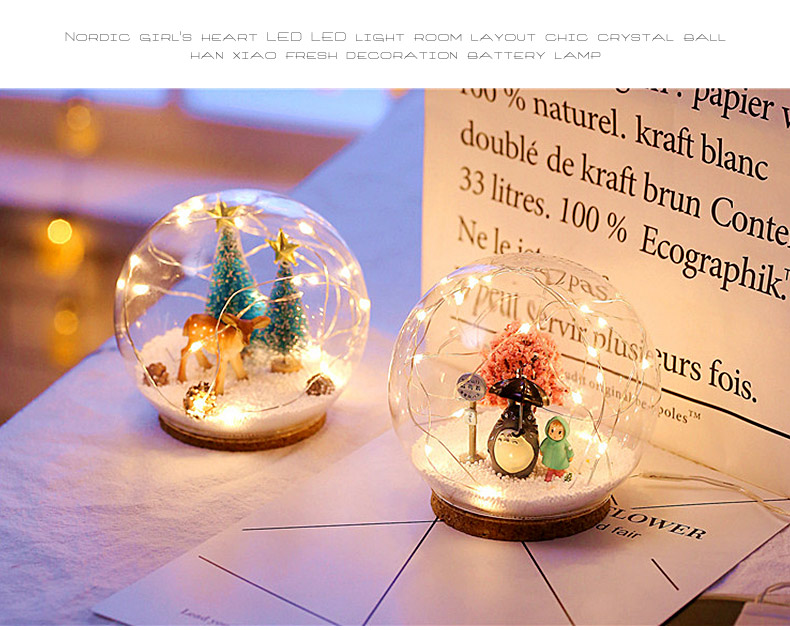 Plasma Ball Electrostatic Sphere Light Magic Crystal Lamp Ball Desktop Lightning New Year Christmas Party Touch Sensitive Lights (3)
