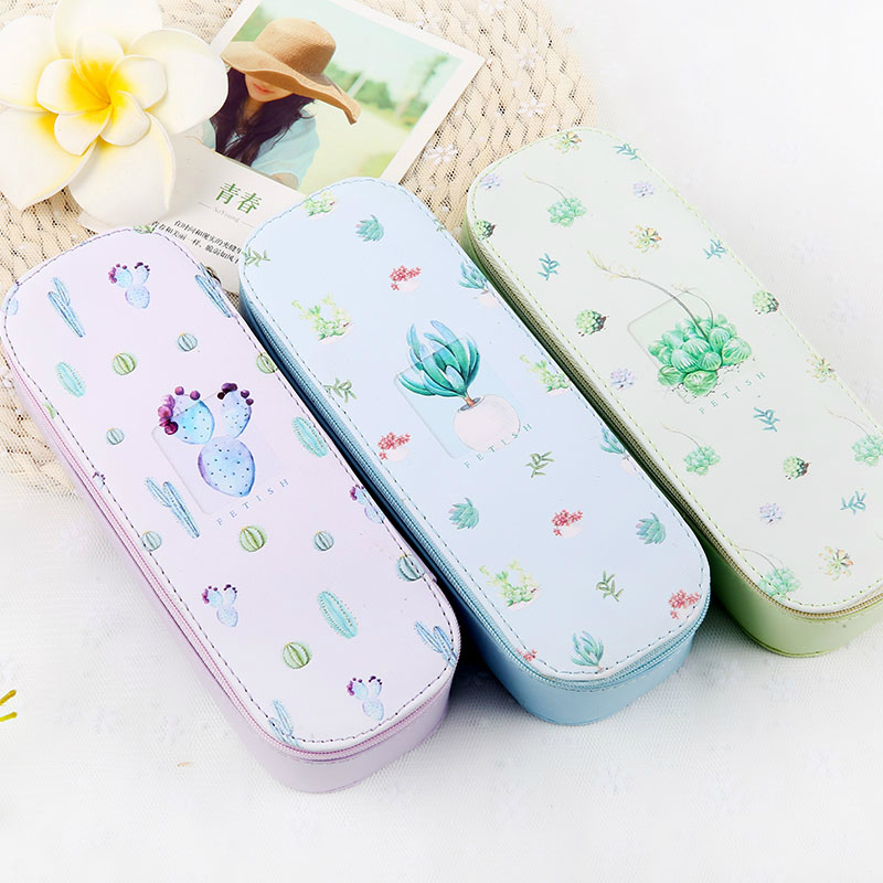 New arrival lovely student pencil case large capacity simple metal iron pencil box creative school penalty papelaria chancery pencil case color simple love excellent pencil box creative student pencil case large capacity stationery storage box