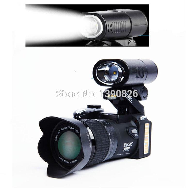 POLO D7200 Appareil Photo numérique 33MP Auto Focus professionnel Appareil Photo reflex numérique téléobjectif grand Angle Appareil Photo sac