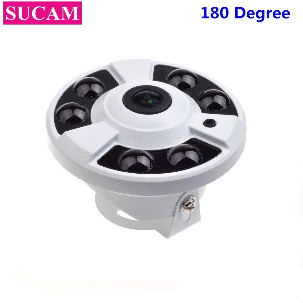 SUCAM 1080P Fish Eye Security Camera 2MP Metal 6 Array Leds OSD Cable Home CCTV Camera AHD 30M IR With 1.7mm Fisheye Lens блендер philips hr 2633 90