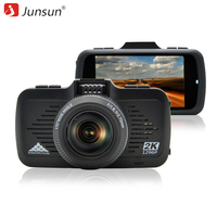 Junsun Car DVR Camera GPS 2 In 1 Ambarella A7LA50 With Speedcam Super Full HD 1296P