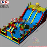 (China Guangzhou) manufacturers hot selling inflatable slides fun park