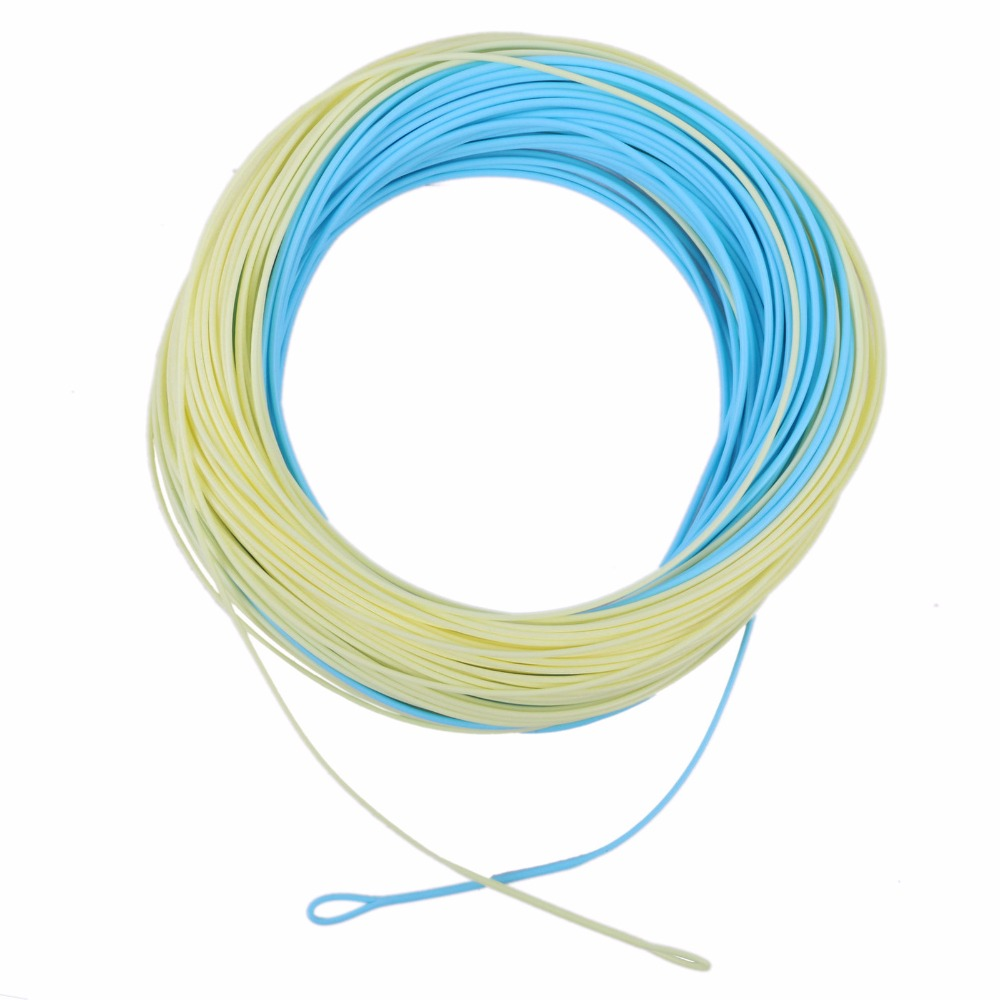 Maxcatch fly fishing line floating 3 8wt beige blue for Fly fishing line
