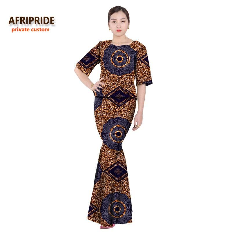 Klasična afrička odjeća za žene dvodijelna haljina party set - Nacionalna odjeća - Foto 4