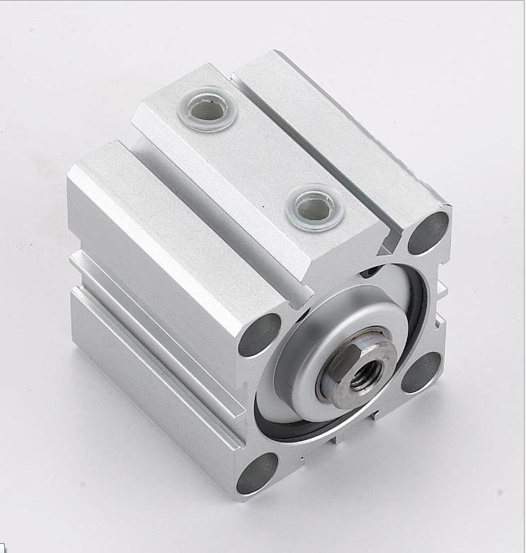 bore 100mm X15mm stroke SDA series double action thin compact Cylinder,air cylinder,pneumatic cylinder