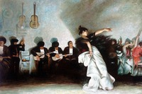 El Jaleo by John Singer Sargent Spanish Dancer Paintings Pub Beer Bar Hotel Wall Decoration Art Gifts Canvas Oil Painting