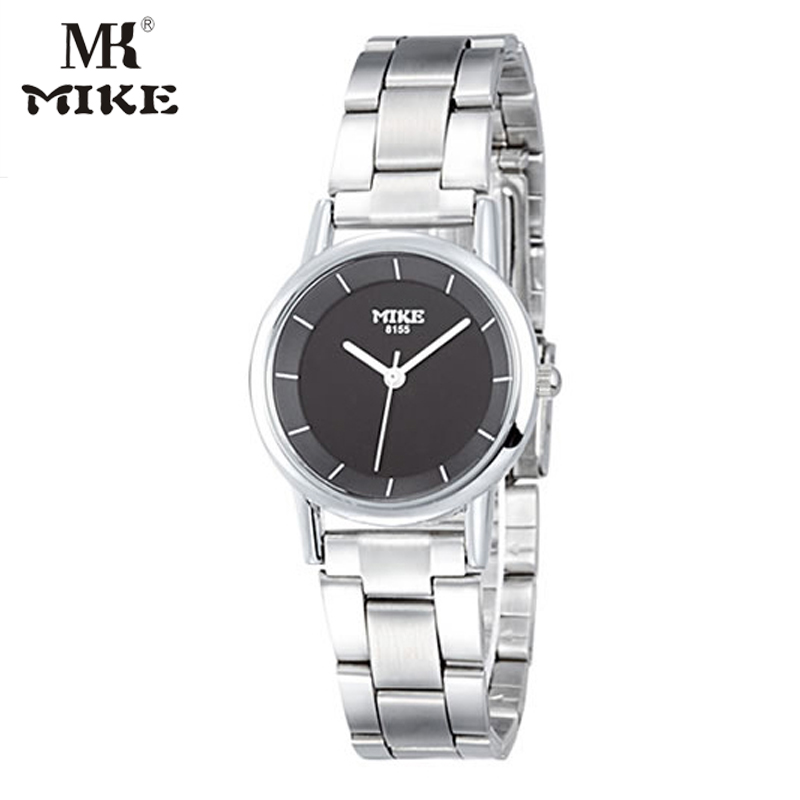 MK Mike Classic Simple Watch Lady Watch For Woman Quartz Watch Clock Stainless Steel Water Resistant Japanese Movement Horloges