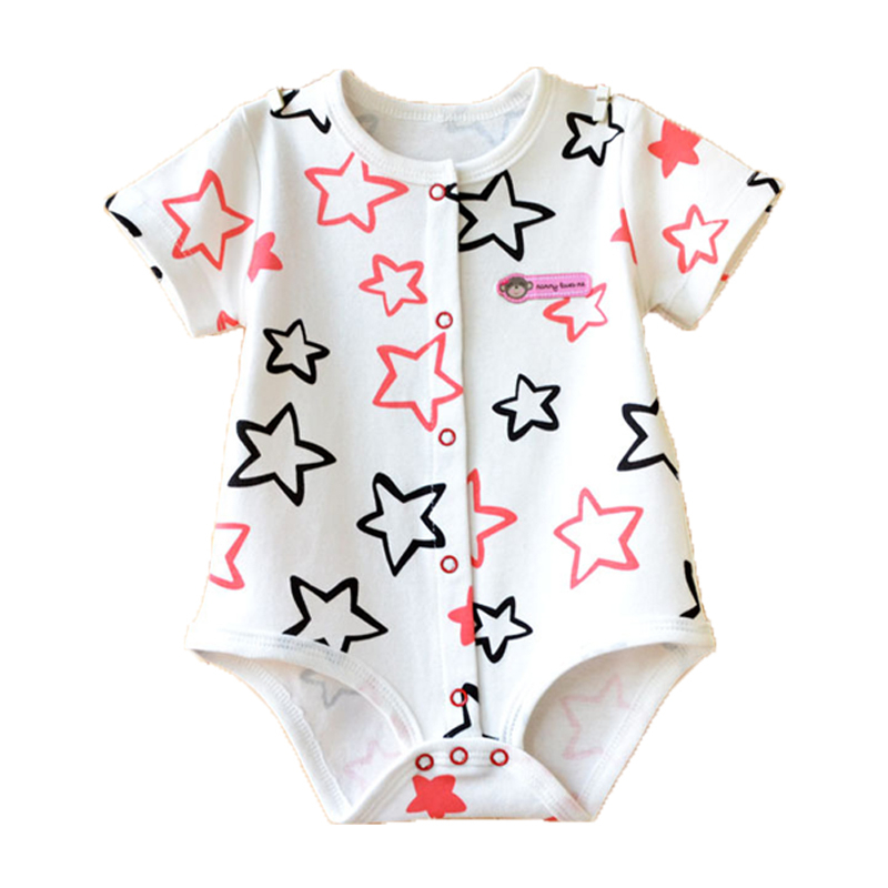 2017 Baby Rompers Summer Baby Boy Clothes Cotton Baby Girl Clothes Cartoon Newborn Baby Clothes Roupas Bebe Infant Jumpsuits summer 2017 navy baby boys rompers infant sailor suit jumpsuit roupas meninos body ropa bebe romper newborn baby boy clothes