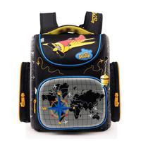 Brand Children School Bags for Boys Orthopedic Backpack Cartoon Cars or planes Schoolbag Kids Satchel Mochila Infantil Grade 1-5