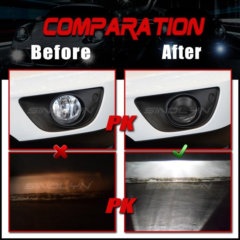 lights comparation_