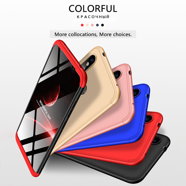 360 Degrees Full Protection Phone Case For Redmi Note 5 - 6 5