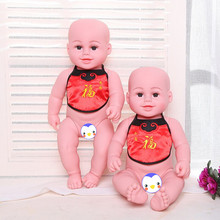 45cm Soft Body Silicone Reborn Baby Doll Toy For Girls Vinyl Newborn Girl Babies Dolls Kids Child Gift Girl