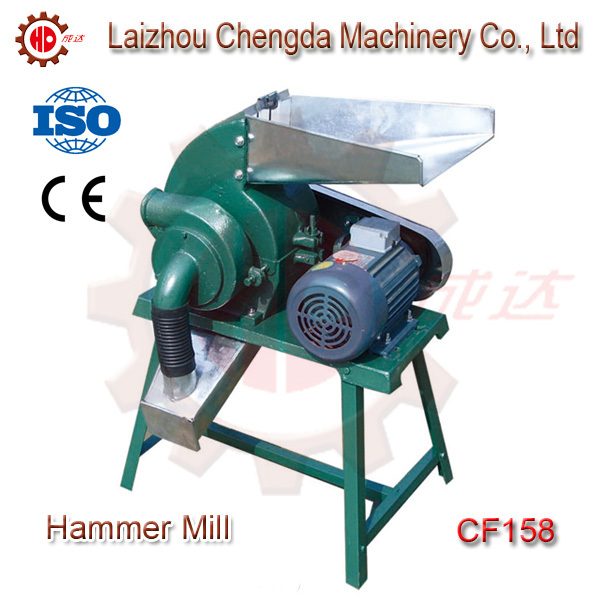 Free Shipping To Door Family Use 2.2 Kw Cotton Straw Corn Feed  Hammer Mill