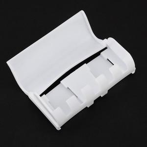 Image 4 - 浴室付属品セット歯ブラシホルダー自動歯磨き粉ディスペンサーホルダー歯ブラシウォールマウントラックバスルームサクションカップツールセット
