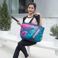 New sports fashion badminton bag shoulder 2 3 sticks mobile bag men and women models simple casual compact