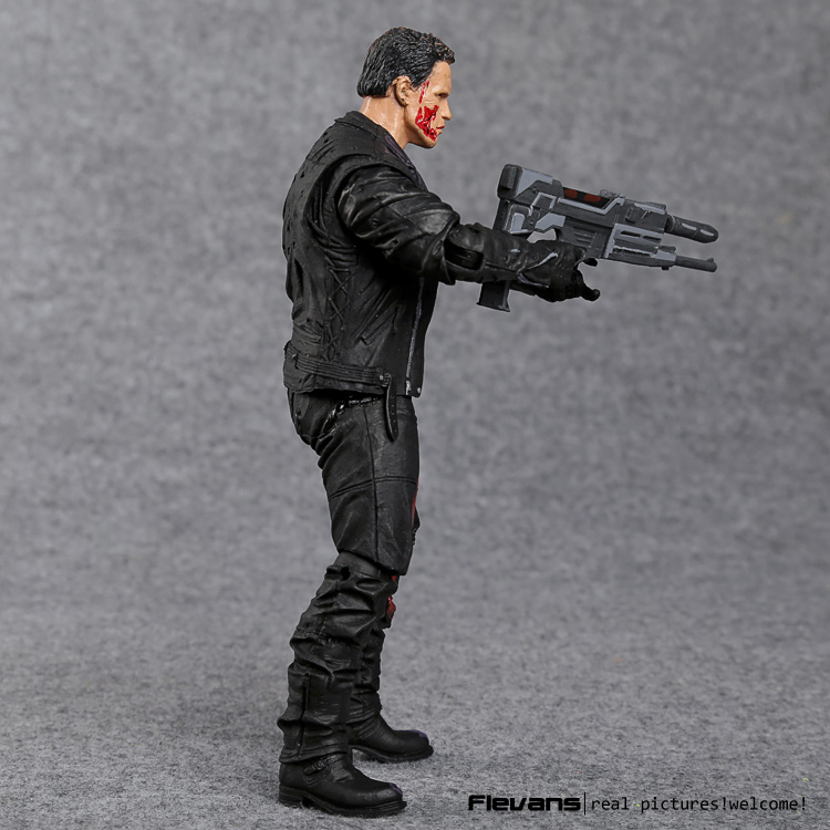 "Image 4 - The Terminator T 800 Arnold Schwarzenegger PVC Action Figure Collectible Model Toy 7"" 18cm-in Action & Toy Figures from Toys & Hobbies"