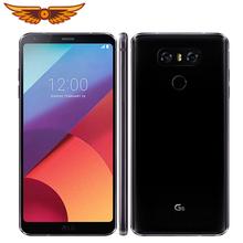Oryginalny LG G6 H871 H872 VS988 Snapdragon 821 podwójna kamera tylna 5 7 cali 4GB RAM 32GB ROM 13 0MP LTE 4G odnowiony telefon komórkowy tanie tanio Nie odpinany KR (pochodzenie) Android Rozpoznawania linii papilarnych Do 24 godzin 13MP 3300mAh Szybkie ładowanie 3 0 Smartfony