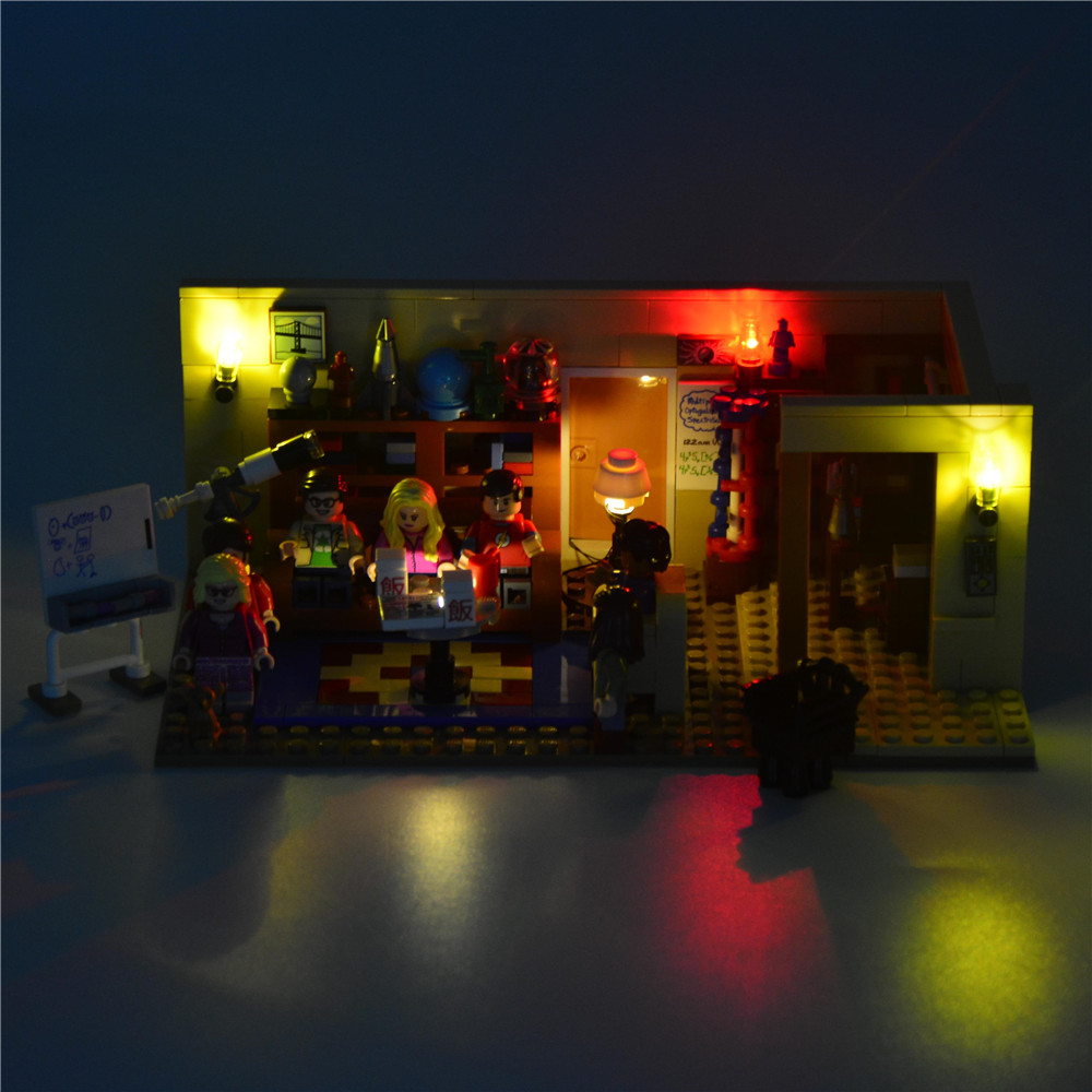 JOY MAGS Led Building Blocks Light Up Kit för Big Bang Theory Idea - Byggklossar och byggleksaker - Foto 3