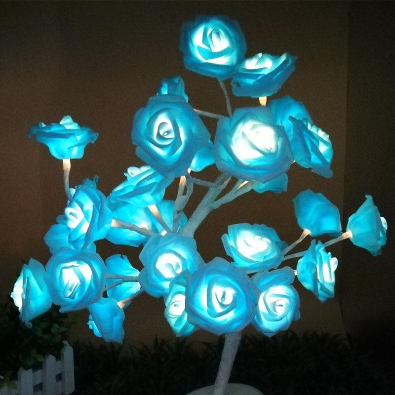 Llamba LED Tela trëndafilash Dritat LED Garland Dritat e - Ndriçimi i pushimeve - Foto 6