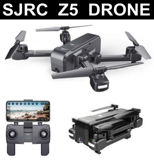 US $82 9 |SJRC Z5 Quadrocopter with HD 720P/1080P Camera GPS Drone 2 4G/5G  Wifi FPV Altitude Hold Follow Me Mode Dro vs Visuo XS812-in RC Helicopters