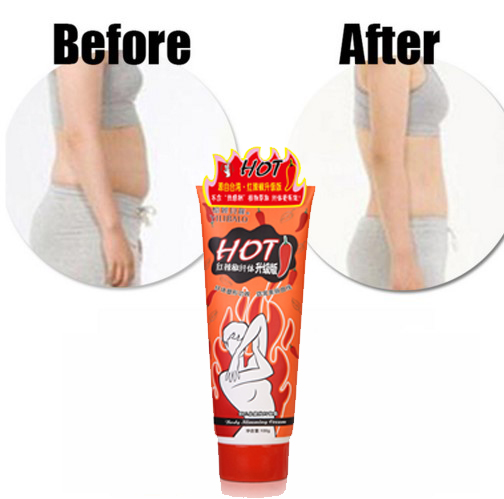 Weight Loss Products Hot Chilli Chili Slimming Creams Leg Body Waist Effective Anti Cellulite Fat Burning Gel 100g SBC012