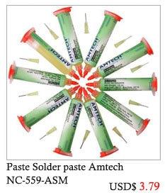 Solder Paste 100%Original AMTECH NC-559-ASM BGA PCB No-Clean Solder Paste Welding Flux Grease 10cc Soldering fluxo de solda