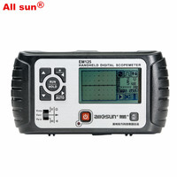 All Sun 25MHz 100MSa S Digital 2 In1 Handheld Portable Oscilloscope Multimeter Single Channel Waveform USB