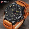 Curren Top Brand Luxury Men Watches Man Clock Male Retro Leather Army Military Sport Quartz-Watch Men Hodinky Relojes Hombre