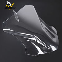 Touring Windscreen For BMW G310GS 2017 2019 G310 GS 2018 windshield Transparent and gray Wind Deflector Protector Cover