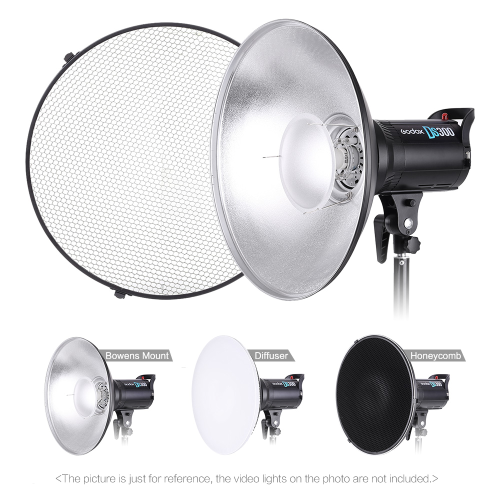Flash Diffuser Studio Photography 70cm/27.6 Inch Speedlite Strobe Lighting Diffuser Lampshade Bowens Mount With Reflector Honeycomb Soft Cloth Fashionable And Attractive Packages